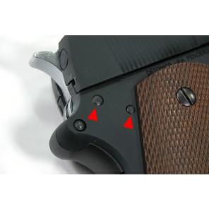 Steel Hammer & Sear Pins for MARUI M1911/Detonics