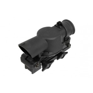 BOG SUSAT style 4x rifle scope w/QD 20mm rail adaptor(Black)