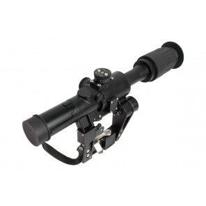 BOG SVD AK 4x26 red illuminated rifle scope