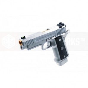 EMG / SALIENT ARMS INTERNATIONAL™ 2011 DS PISTOL (4.3 / ALUMINUM / SILVER)