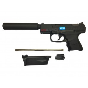 WE P99 Combat GBBP With New WE Silencer Bundle