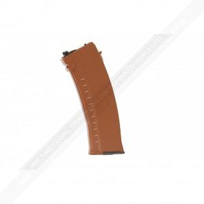 30-rd Gas Magazine for AK GBB series (ABS shell- BROWN)