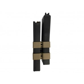 WE 80rd Open Bolt M4 GAS Double Magazine (Black)
