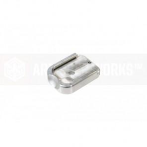 AW Custom HX CNC Aluminium Baseplate [Silver]