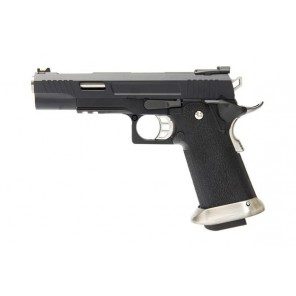 WE Tech Hi-Capa Force T-Rex 5.1 GBB Pistol Black (No Marking)