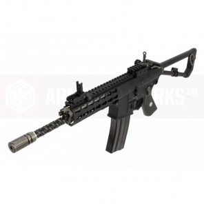 "EMG / KNIGHTS ARMAMENT AIRSOFT PDW M2 STANDARD 10"" GAS BLOWBACK RIFLE (BLACK)"