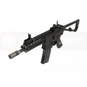 EMG / KNIGHTS ARMAMENT AIRSOFT PDW M2 COMPACT GAS BLOWBACK RIFLE (BLACK)
