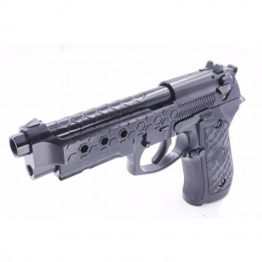 WE M92 HONEYCOMB PISTOL (BLACK)