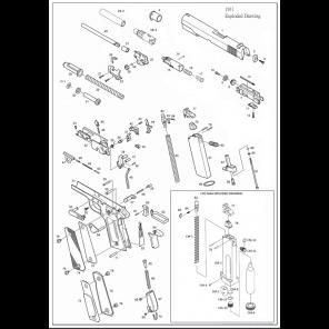 KJ 1911 #14 #15 #16 #17 Nozzle Assemblies