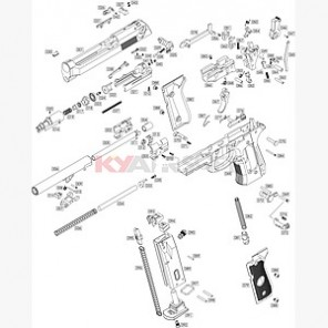 WE M9 Series AUTO GEN2 Ambi safety lever setM9 Repair Parts Set