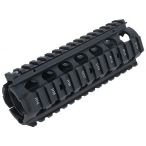 WE M4 RIS Handguard Black