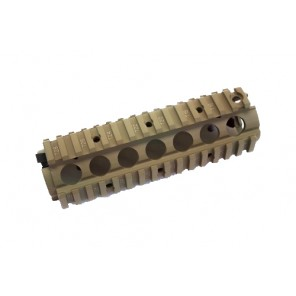 WE M4 RIS Handguard Tan