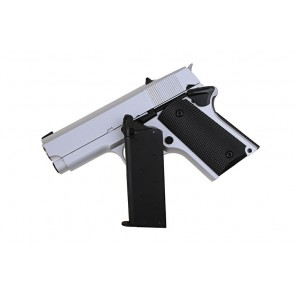 ARMY R45A1 (DETONICS .45) GBB Pistol (Full Metal / Silver)