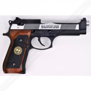 WE M92-SP-2058 GD BioHazard M92 Semi / Full Auto (2 Tone)
