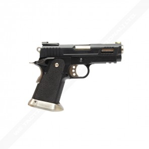 WE HI-CAPA 3.8 Velociraptor series GBB Pistol (Black Silde)