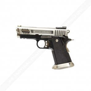WE HI-CAPA 3.8 Velociraptor series GBB Pistol (Silver Silde)