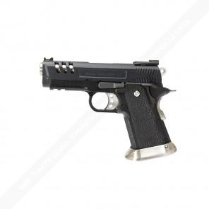 WE HI-CAPA 3.8 Deinonychus series GBB Pistol (Black Silde)