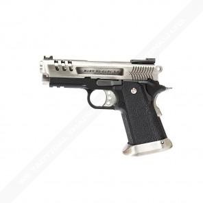 WE 3.8 Deinonychus series GBB Pistol (Silver Silde)