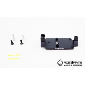 ACE 1 ARMS Defense Style Red Dot Back up Sight Base BK