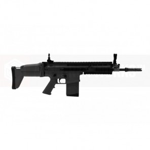 CYBERGUN LICENSED WE FN SCAR H (MK17) GBBR Black