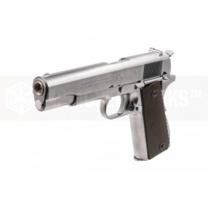 CYBERGUN COLT 1911A1 (SILVER / CO2&GAS) 2 magazine