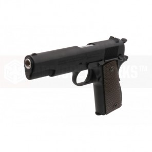 CYBERGUN COLT 1911A1 (BLACK / CO2&GAS) 2 magazine