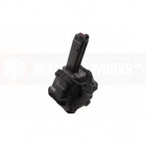 AW Customs - ADAPTIVE 300RDS DRUM MAGAZINE - (G-Series) VX SERIES(BlacK)