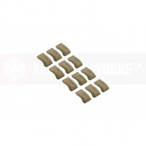 ADAPTIVE DRUM MAGAZINE SHOCKPROOF PADS - TAN