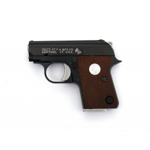 WE CT25 GBB Pistol  (Black, Horse white marking)
