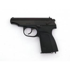 WE Metal MAKAROV GBB Pistol with Silencer ( BK,  RN Marking)