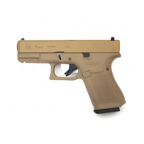 WE G19 GEN5 TAN (CUSTOM CNC MARKING)