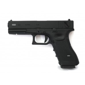 WE G18 GEN 3 GBB Pistol Black (CNC custom marking)