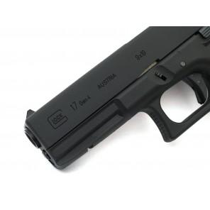 KY CUSTOM WE G17 GEN4 GBB Pistol Black(Full marking)