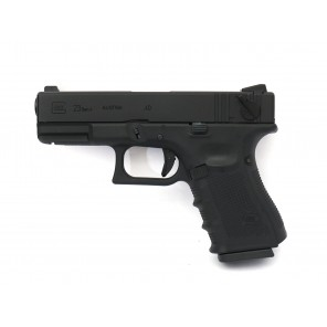 WE G23 GEN 4 GBB Pistol Black(CNC Custom marking)