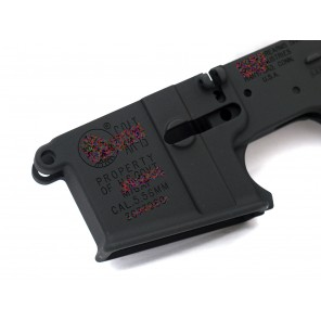 WE M4 GBB rifle lower body receiver #105 (MK18 MOD 0 marking)