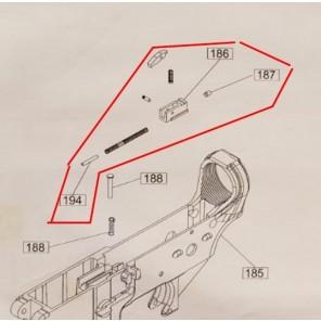 WE PCC M4 / 888 valve knocker assembly