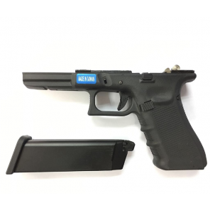 WE G17 BK (GEN3/GEN4) Complete lower receiver (magazine included)