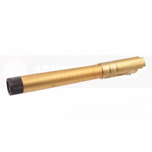 EMG / STI DVC 3-GUN 5.4 OUTER BARREL (GOLD / THREADED)(2020 ver)