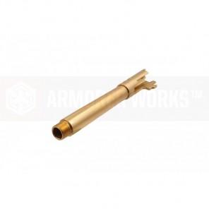 EMG / STI DVC 3-GUN 5.4 OUTER BARREL (GOLD / THREADED)