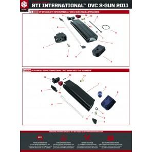EMG STI TTI Combat master 2011 magazine feed lips D3GM #11