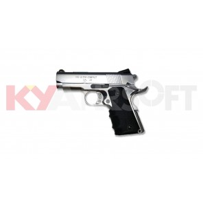 KY custom V10 Gbb Pistol with Marking (Silver)