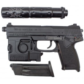 Tokyo Marui MK23 SOCOM Fixed Slide Full Set Pistol