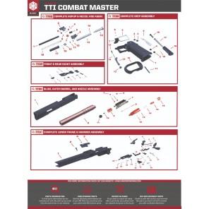 EMG STI TTI Combat master 2011 hammer set TTLF #8, #9, #10