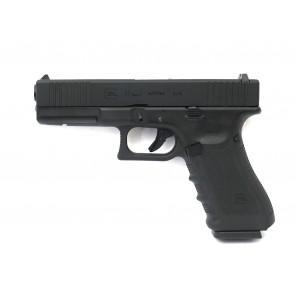 KY custom G17FS GBB pistol BK(CNC custom marking)