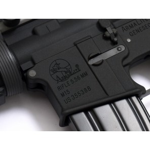 WE M4 RIS GBBR Black( ARMALITE M15 marking)