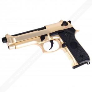 WE-M004 WE M92 Full Metal GBB Pistol GOLD