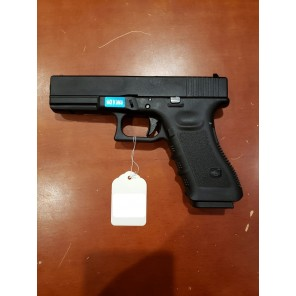 WE G17 GEN 3 GBB Pistol Black(All-Plain-Version)