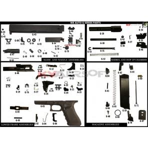 G #G-14 AUTO GBBP Trigger Pin