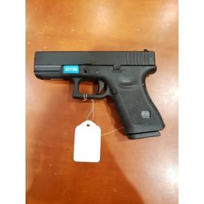 WE G19 GEN 3 GBB Pistol Black(All-Plain-Version)
