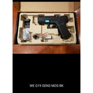 WE G19 GEN3 MOS BK